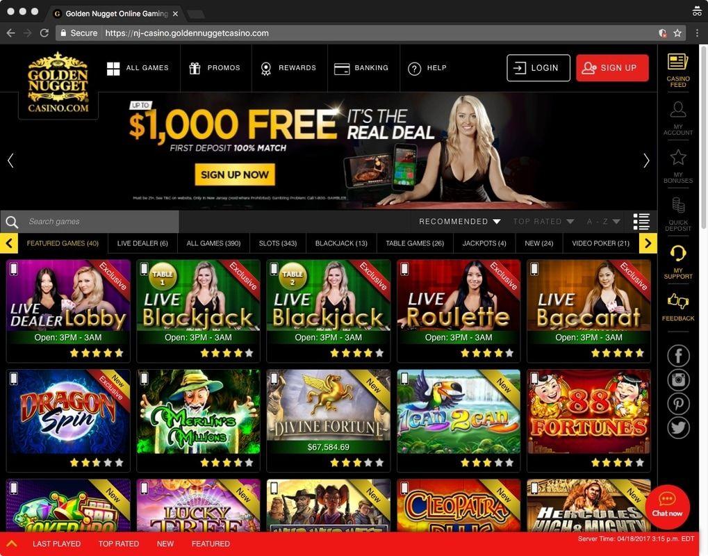 Casino Bonus Codes 2017