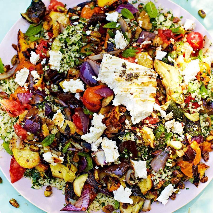 Lunch Ideas Jamie Oliver: Ensaladas Saludables, Comida Bebida