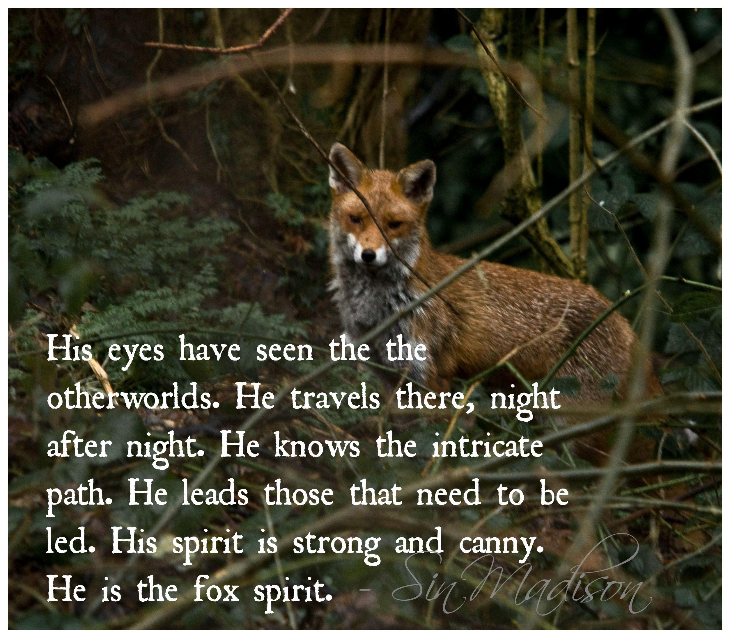 Fox Spirit One Of My Guiding Animal Spirits Fox Spirit Fox Spirit Animal Totem