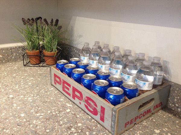 Vintage Pepsi and Coca-Cola Crates