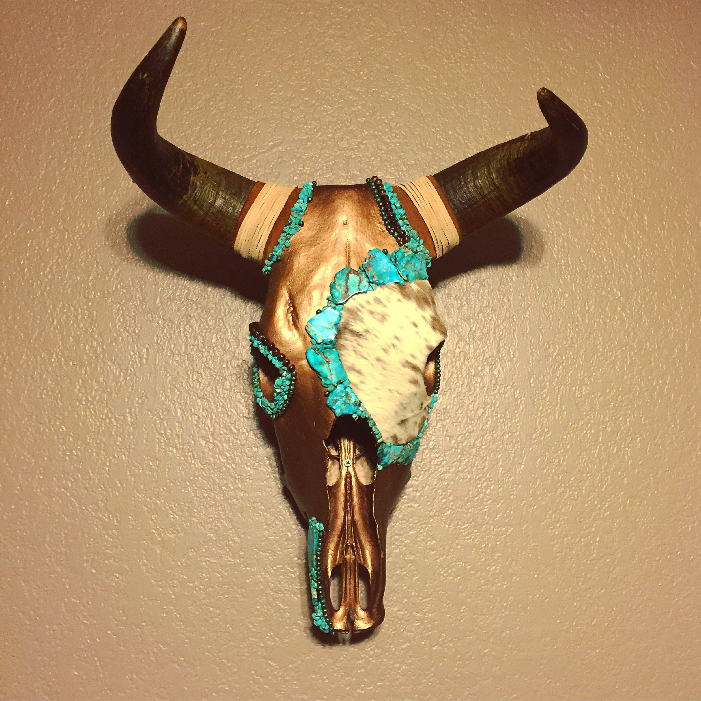Cow Skull Decor - Coppertop Eclectic & Unique Designs   Antlers ...