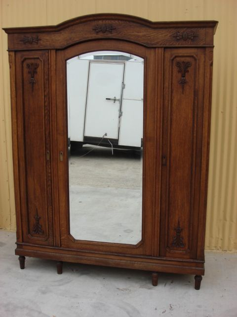 wardrobe antique french armoire pics cabinet furniture