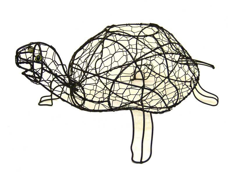 Turtle Pot Aquatic Animal Topiary Frame | garden | Pinterest ...