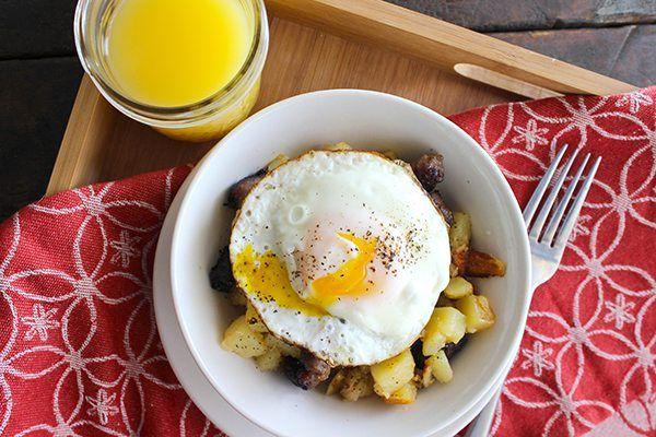 Simple Breakfast Hash Stir Fry