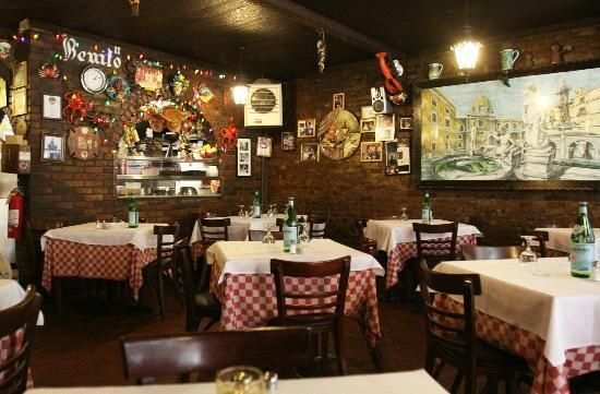 Benito S Ii Restaurant Inc Little Italy New York Restaurant New York Little Italy Restaurants