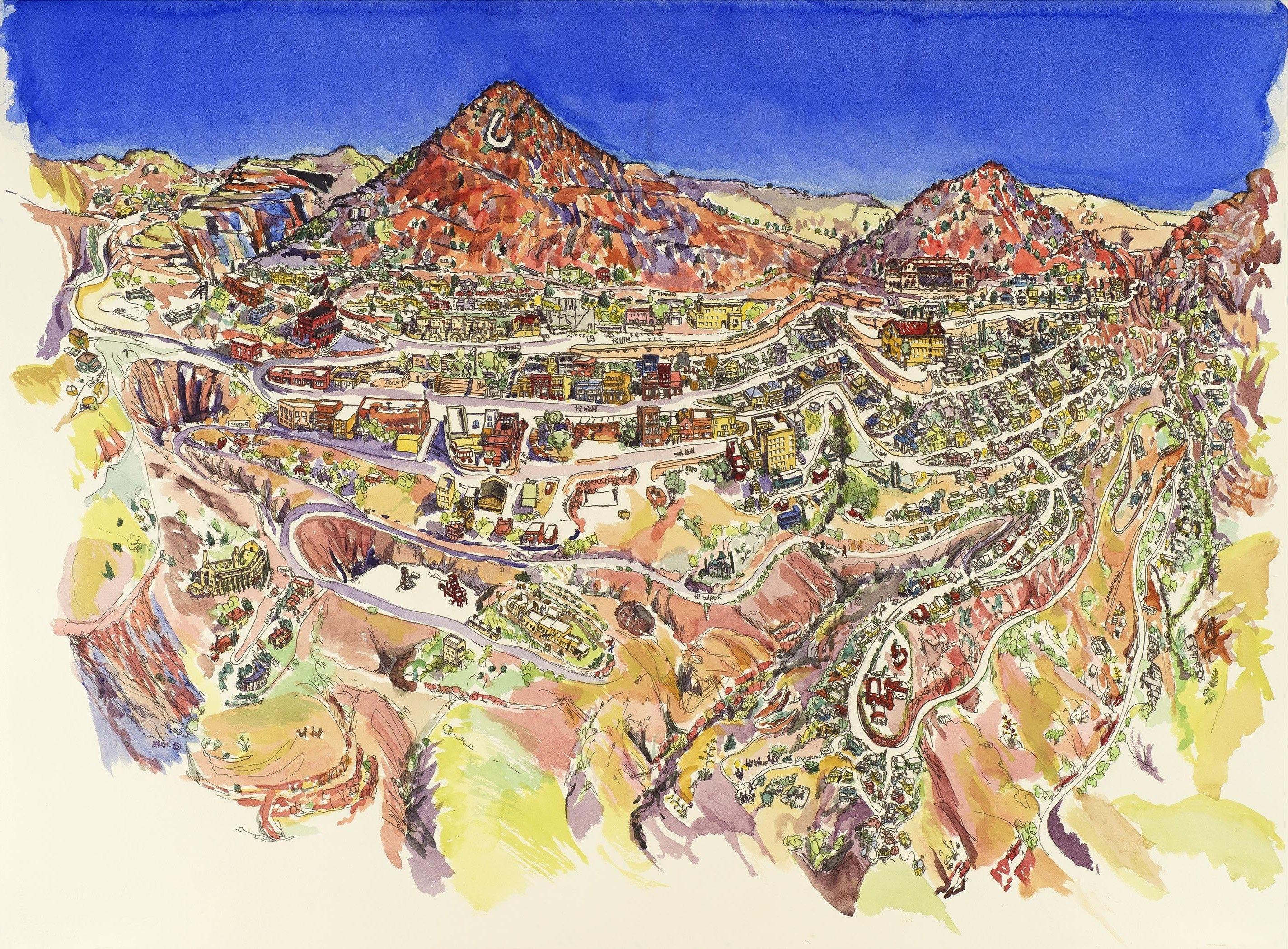 Map Of Arizona Including Jerome.Jerome Az Map My Blog With Arizona Az Places Arizona Road Trip