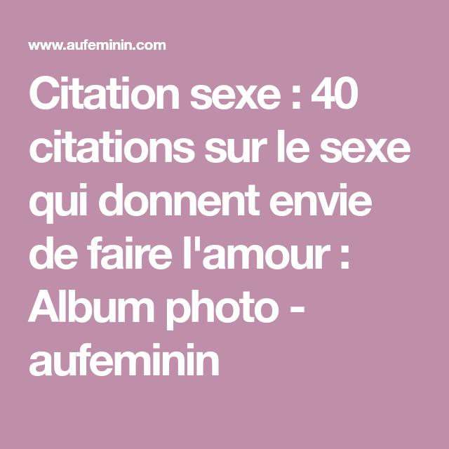 Citation Sur Lamour