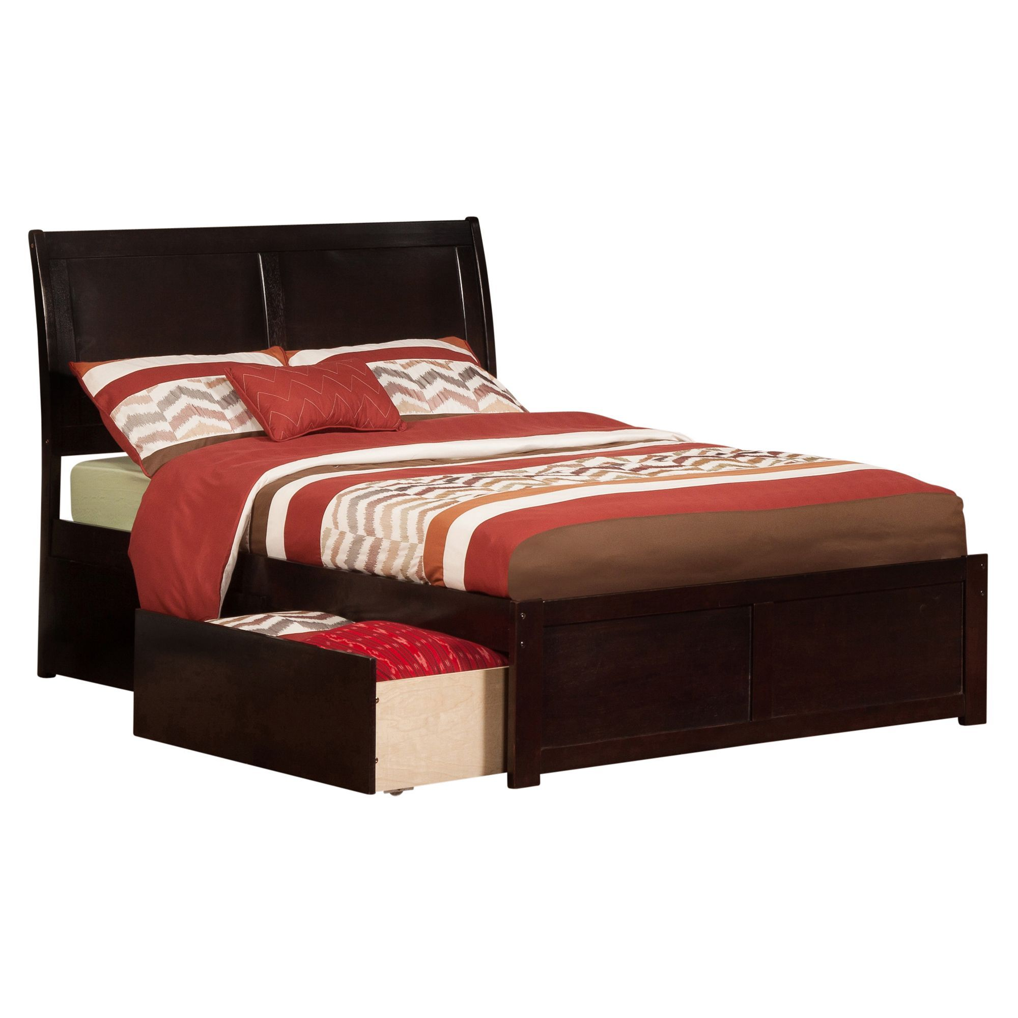 queen wooden bed with storage useful drawers bedroom size frame double frames awesome full and
