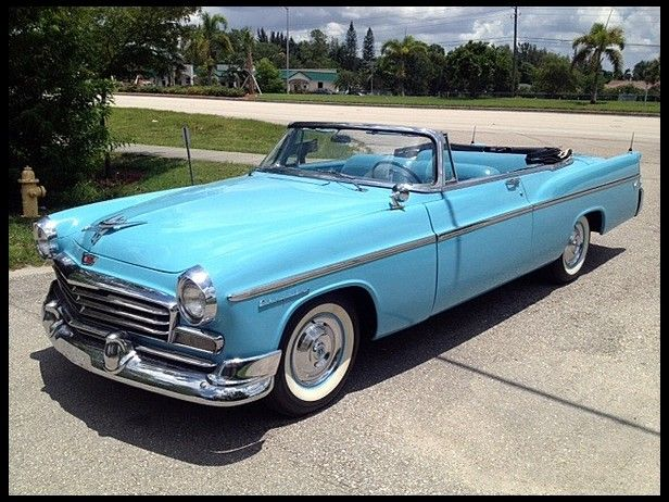 1956 Chrysler Windsor Convertible 331/225 HP, Automatic