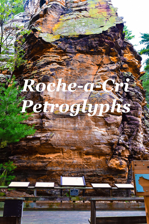 Roche A Cri State Park Friendship Wisconsin Petroglyphs Wisconsin State Parks Wisconsin Travel Hiking Wisconsin