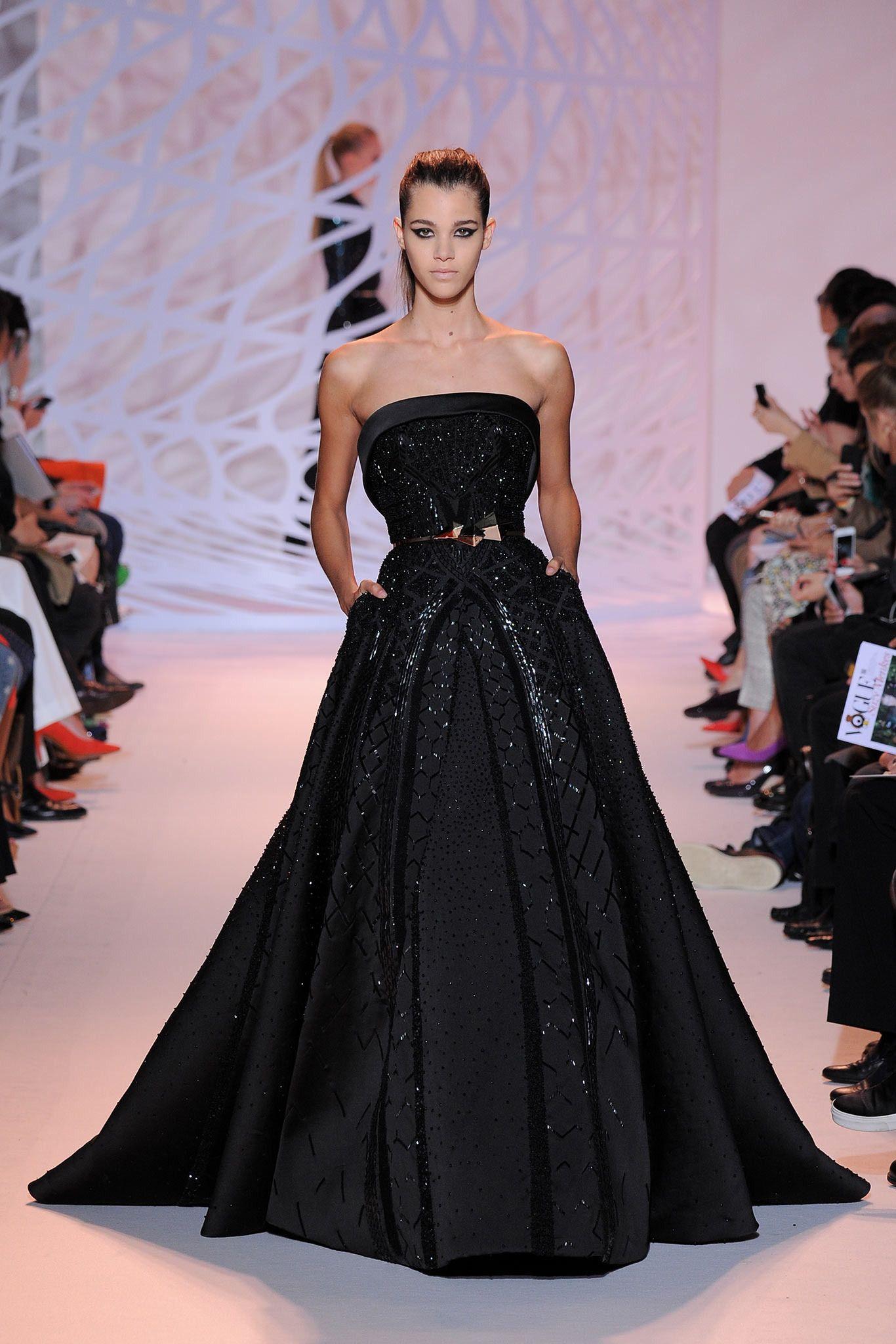 Looks heavy u gorgeous zuhair murad fall couture dresses