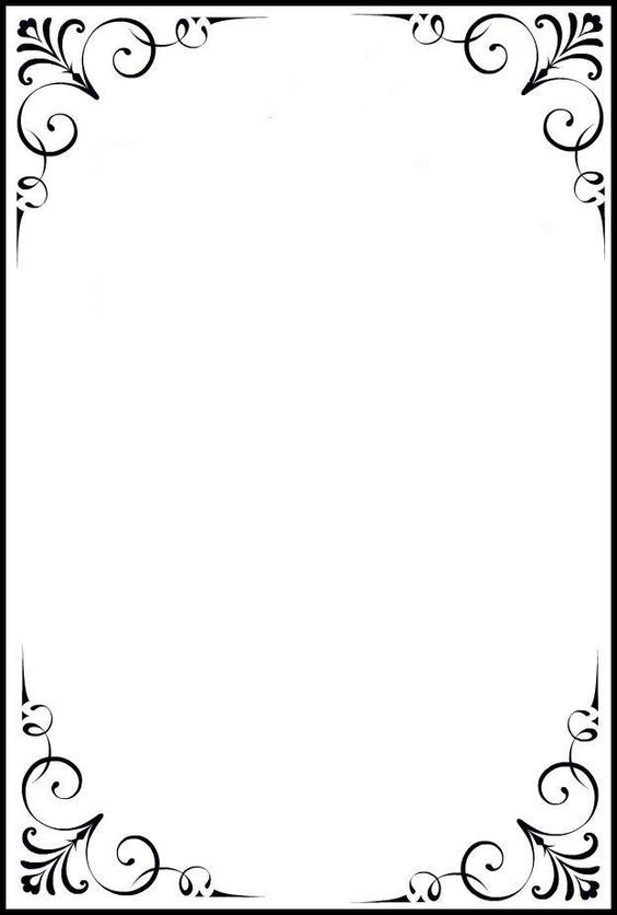 12 Idees De Cadre Bordures De Page Cadre Bordures