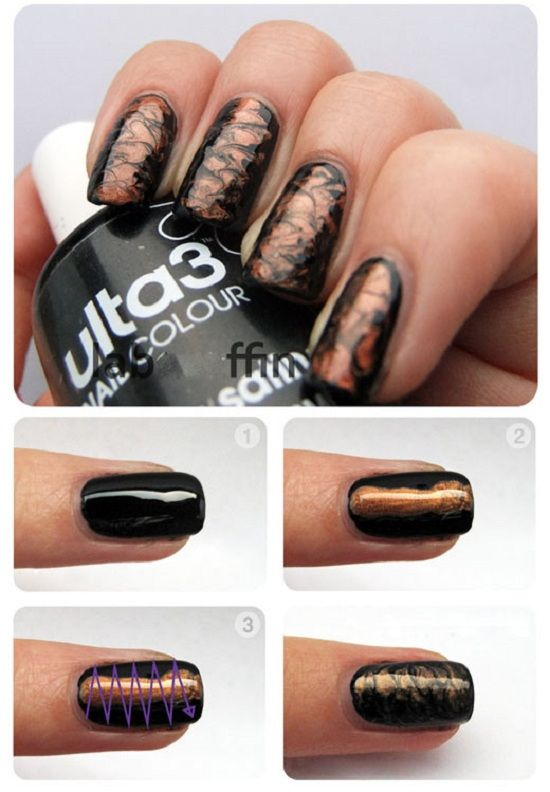 For All The Girls Out There Who Love Black Nails This Tutorial Is You