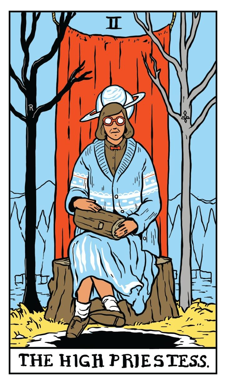 Twin Peaks Tarot  ©Benjamin Mackey, published with permission