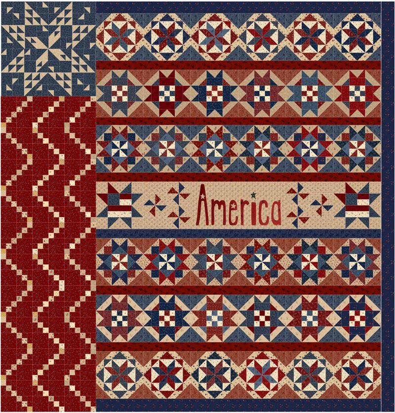 Star Spangled Liberty block of the month at Common Threads ... : common threads quilt shop - Adamdwight.com