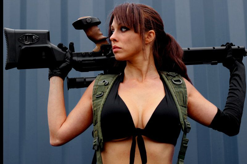 Character Quiet From Konamis Metal Gear Solid V The Phantom Pain
