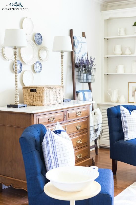 Take my spring home tour for simple decor ideas that will freshen ...