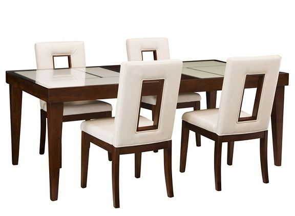 Enzo 5 Pc. Dining Set | Dining Sets | Raymour And Flanigan Furniture  #myrfholiday #SweepsEntry