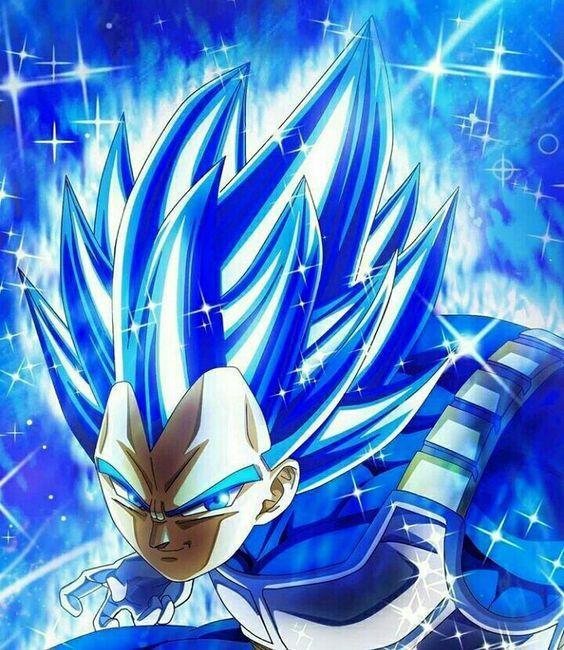 Vegeta Ultra Blue Dragon Ball Super Manga Anime Dragon Ball Super Dragon Ball Super