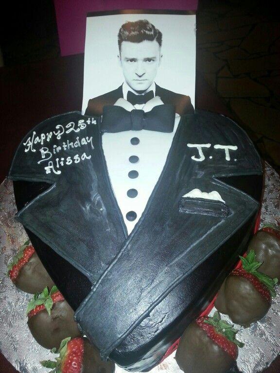 My Justin Timberlake Inspired Birthday Cake Justin Timberlake Eat Cake 25th Birthday