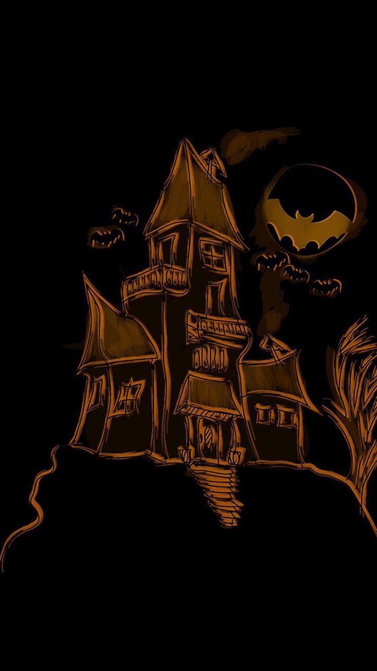 Personality Halloween Black Background Iphone 7 Wallpapers Diy Halloween Costumes For Kids Halloween Printables Free Halloween Wallpaper