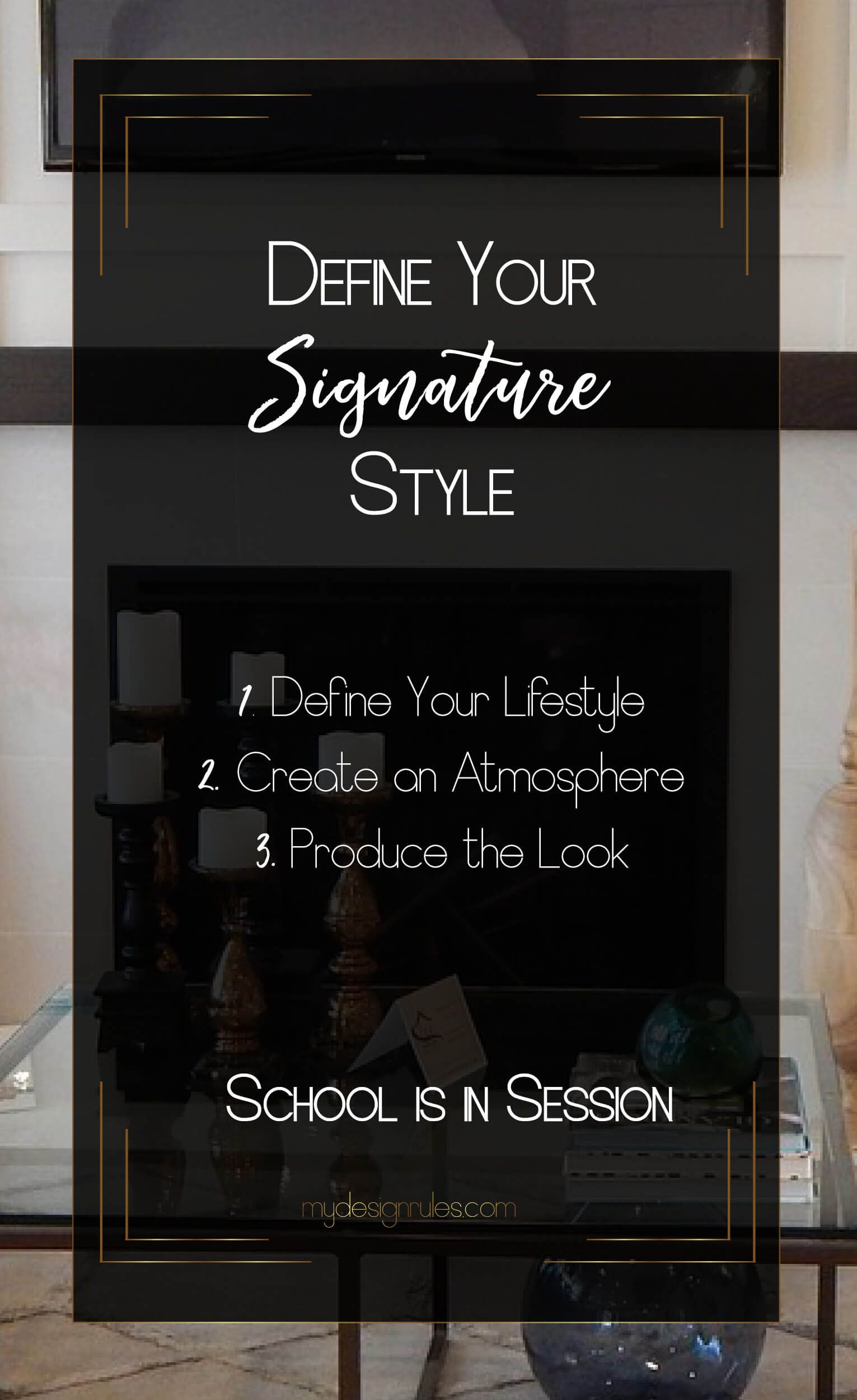 3 Easy Steps To Define Your Signature Style
