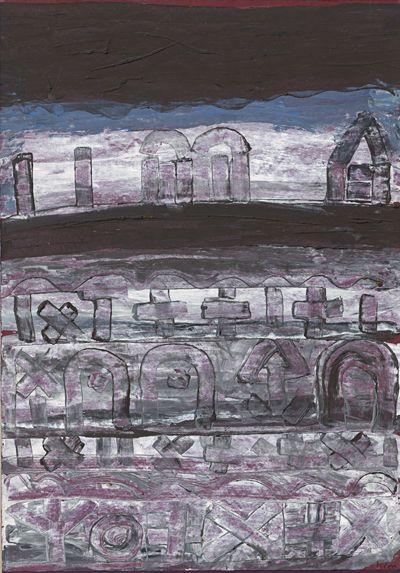 Paul Klee - Nekropolis (1930)