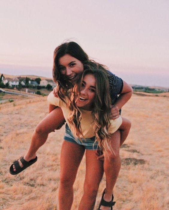 Fotos para tomarte con tu mejor amiga inmediatamente 13