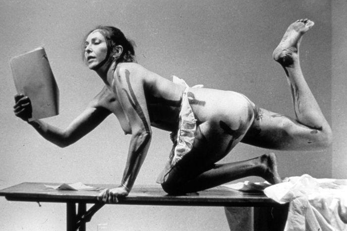 Carolee Schneemann: pintura cinética