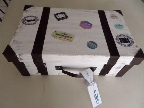 valise en carton r alis e a partir d 39 une boite a chaussure 40 ans pinterest. Black Bedroom Furniture Sets. Home Design Ideas