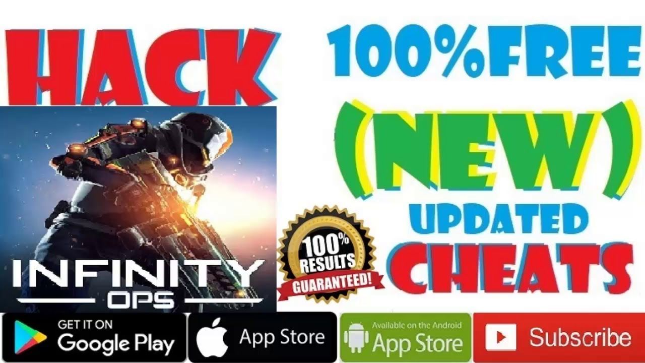 No Verification Infinity Ops Cheats and Hack Free Credits