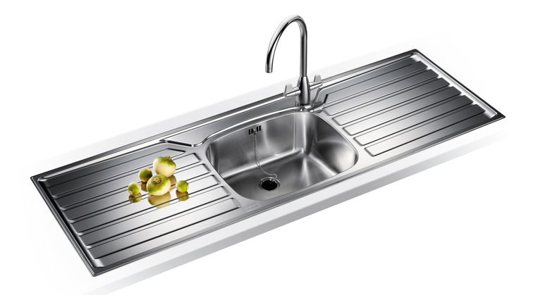 Franke Uk Ukx 612 Single Bowl Double Drainer Stainless Steel Sink