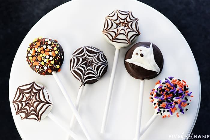 Halloween Oreo Pops #oreopops Halloween Oreo Pops #oreopops