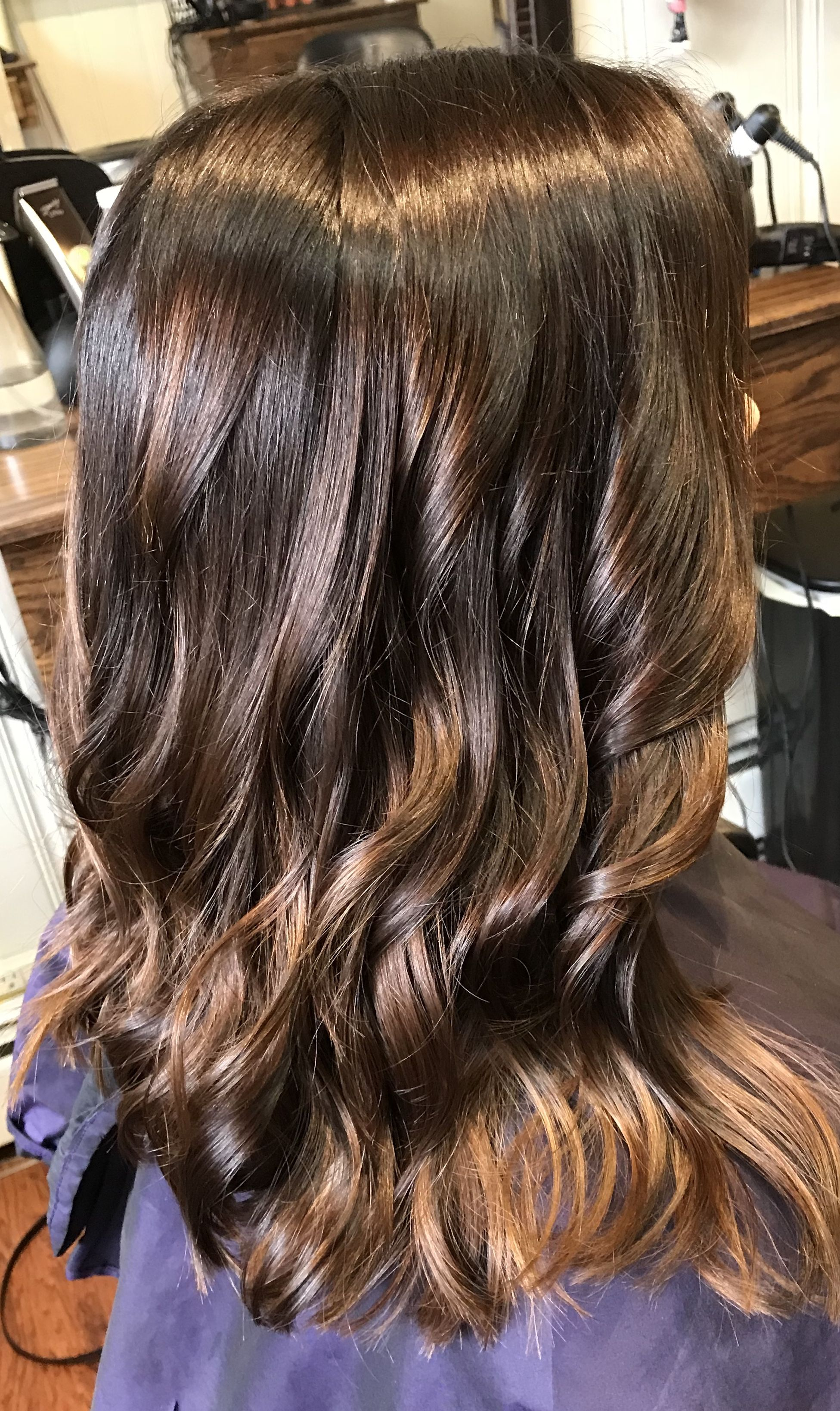 ombre dye and purple s into the us light haircuts lighting brown en transition season look hairstyles red ways to hair hottest