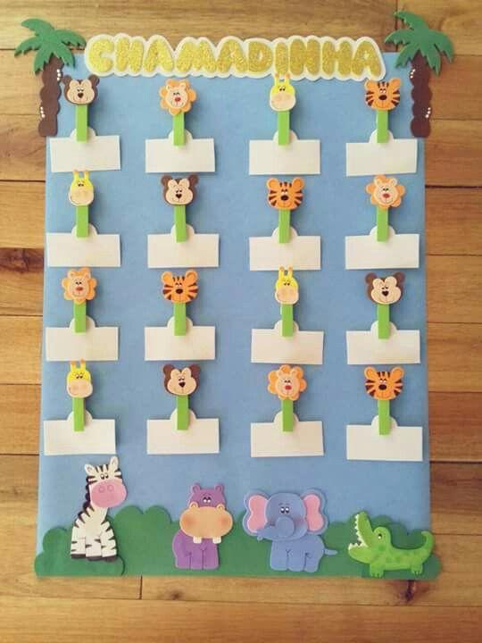 cc3177c88 Chamadinha Educação Infantil, Arte Educação Infantil, Calendário Em Eva,  Painéis De Sala De