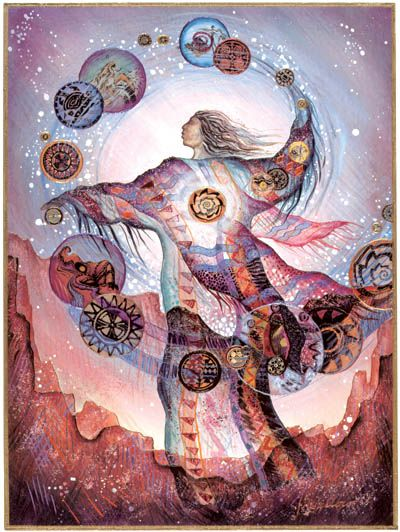 """The Magician"" artist Willow Arlenea. http://www.heal-your-life.org/Magician1%2520copy.jpg"