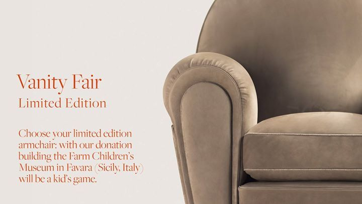 POLTRONA FRAU: The New Colorful Fabric Of The Vanity Fair Limited Edition  Collection Has Been ...   Contemporary Designers Furniture