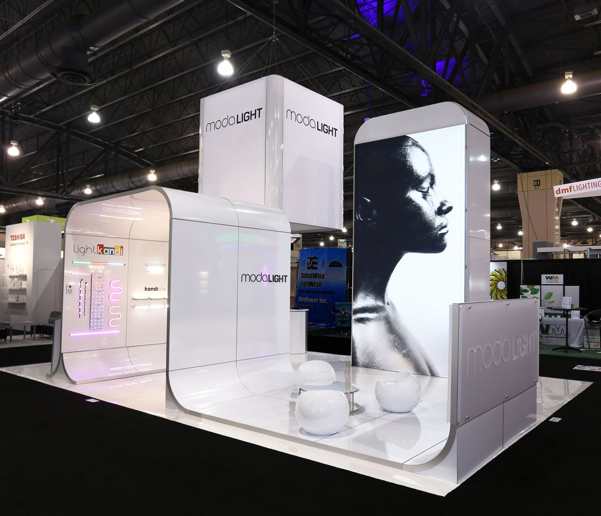 makai trade show design ideas - Booth Design Ideas