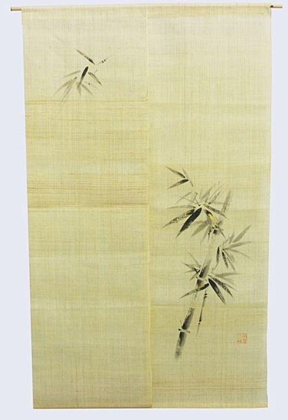 Noren 暖簾, japanischer Vorhang, original aus Kyoto, Japan, Leinen ...