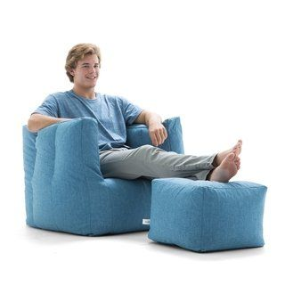 Terrific Big Joe Lux Cube Ottoman Bean Bag Chair Multiple Colors Alphanode Cool Chair Designs And Ideas Alphanodeonline