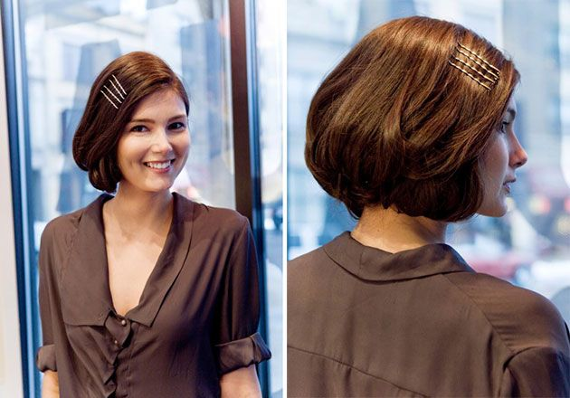 How To Style Bob Hair Magnificent Easy Faux Bob Tutorials  Faux Bob Tutorial Faux Bob And Bobs