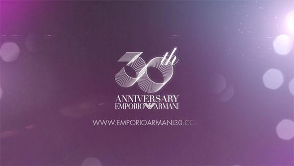 EMPORIO ARMANI 30th ANNIVERSARY by NERDO Design Collective , via Behance