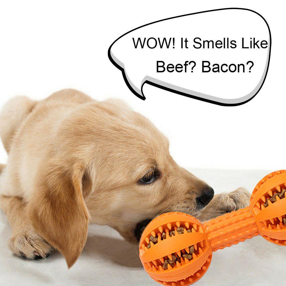 Indestructible Dog Toys Durable Dog Bone Treat Dispenser Bone Dog Chew Toys Dog Teething Toys For Big D In 2020 Dog Teething Toys Dog Toys Indestructable Dog Chew Toys