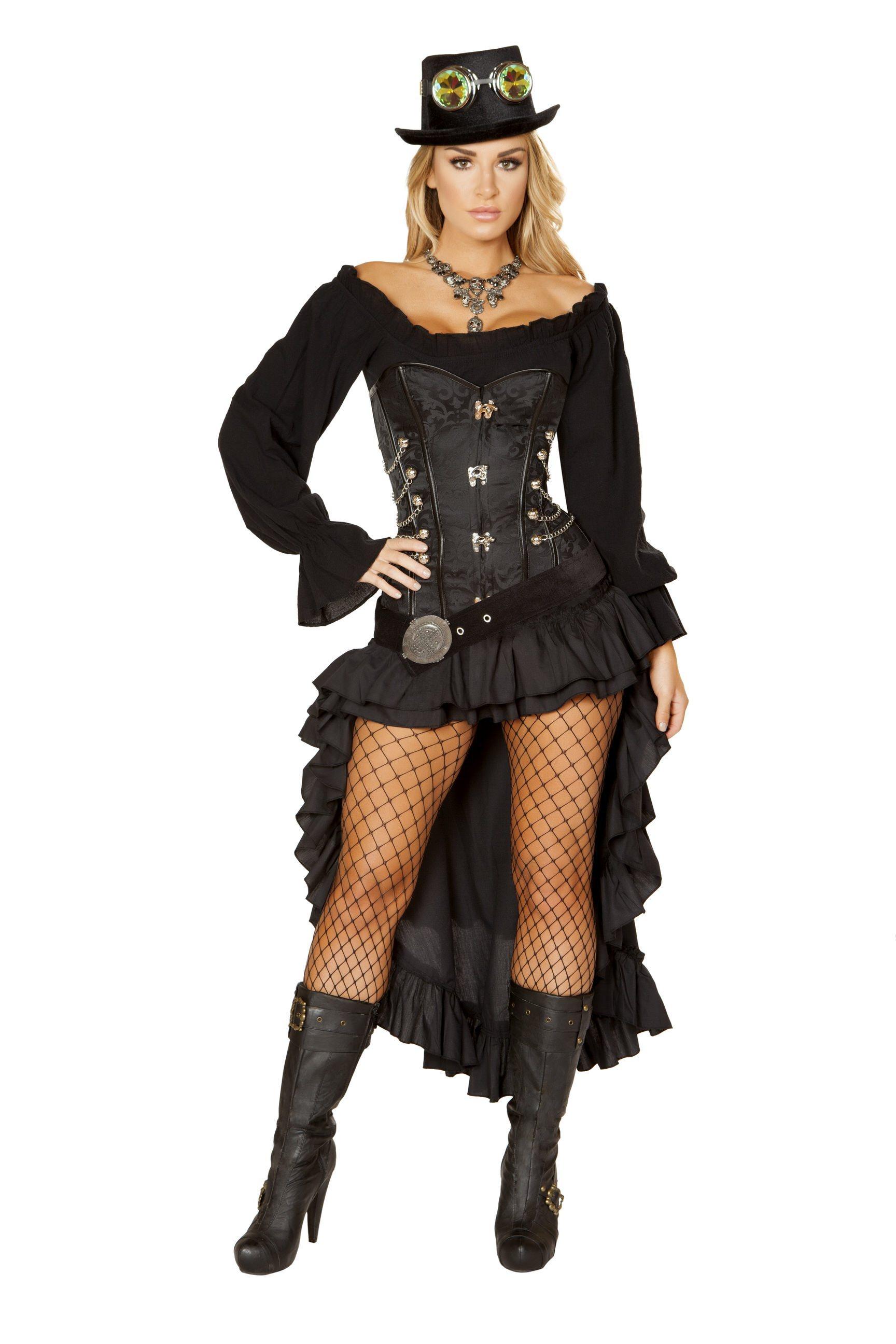 Victorian Steam Maiden Costume