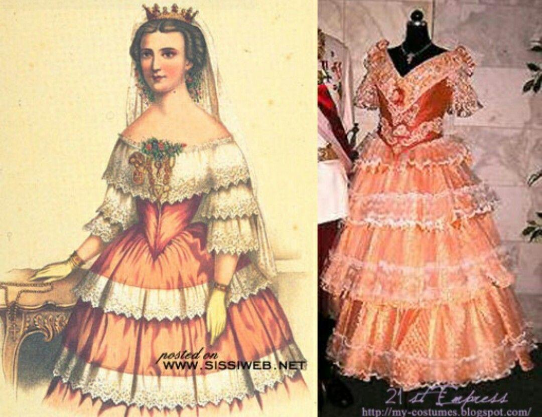Sisi's orange dress!!