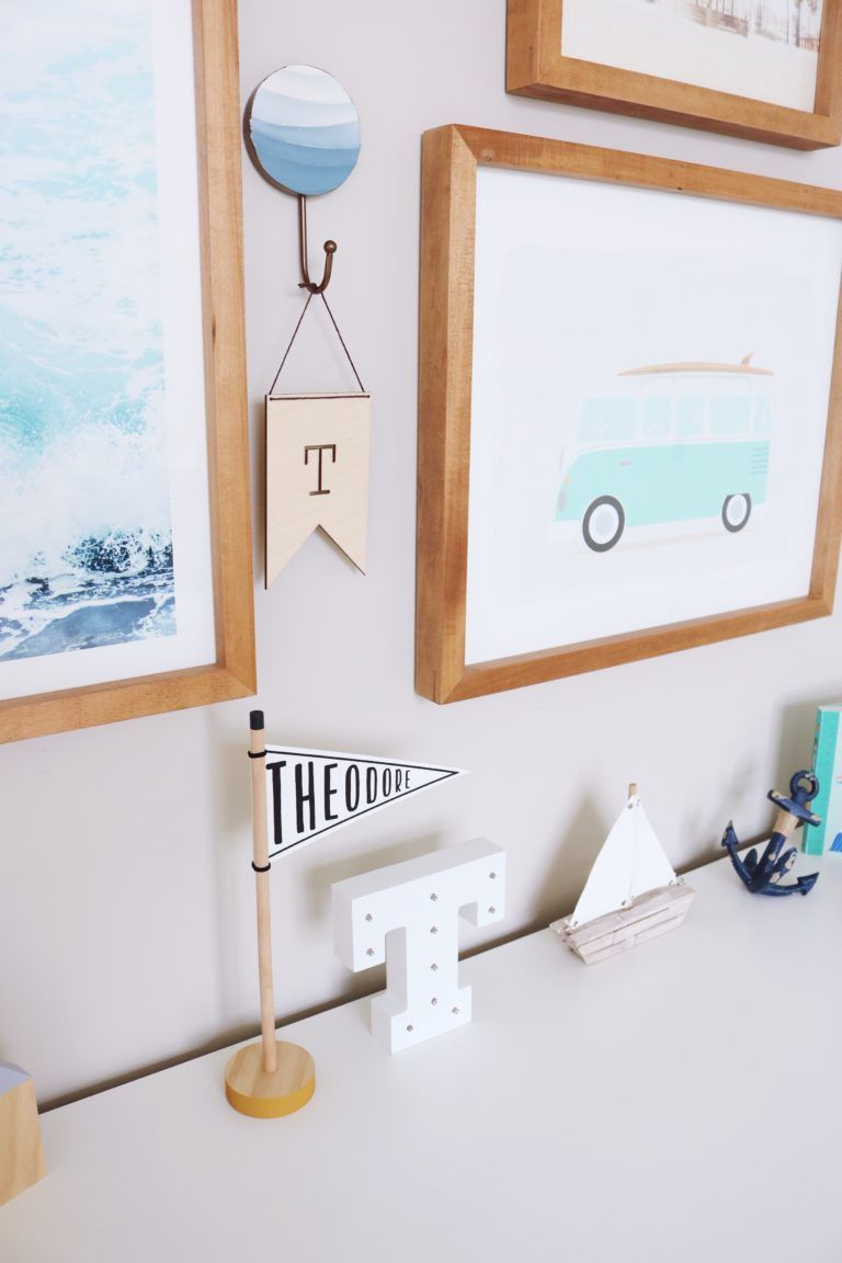 California Beach Inspired Toddler Room Project Nursery Toddler