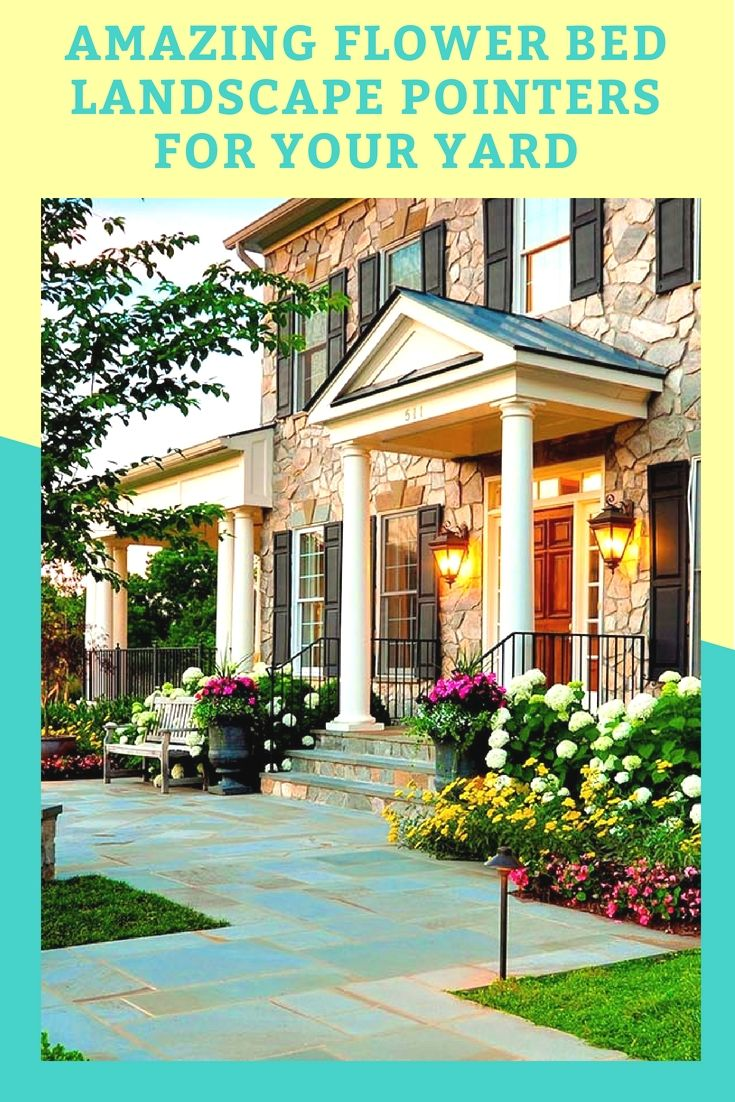new home worthy flower bed landscape ideas homes flowers plans also rh pinterest