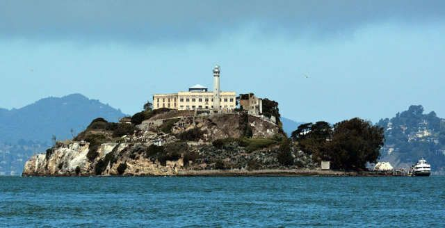 Alcatraz Island :: San Francisco, California :: Alcatraz, once the home of a federal prison that locked up some of America's most notorious criminals, was only open for three decades before shutting its doors, but that didn't stop the inmates from sticking around.