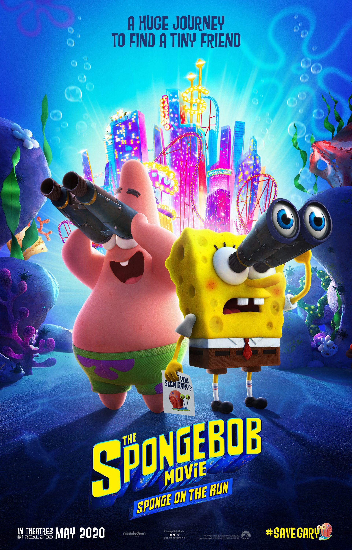 Постер мультфильма Губка Боб в бегах | Губка боб, Смотреть ...