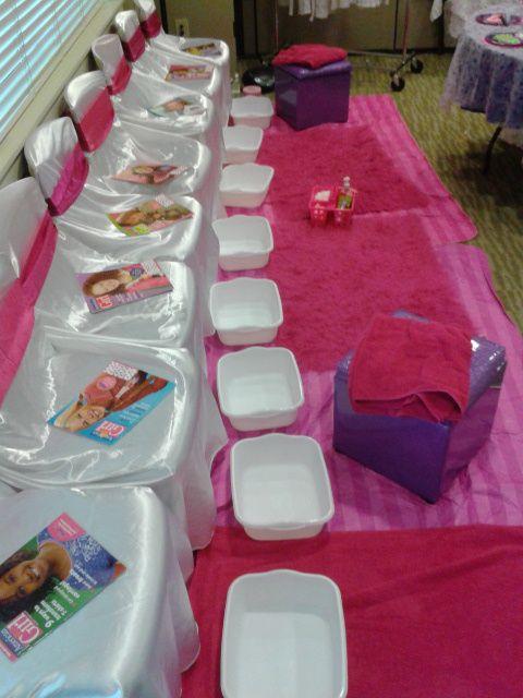 Spa Birthday Party Ideas Spa Birthday Parties Spa Party